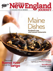 [Magazine cover showing bowl of mussels]